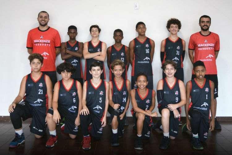 A partir dos 12 anos, garotos do Mackenzie já podem disputar torneios (Foto: Divulgação/Mackenzie)