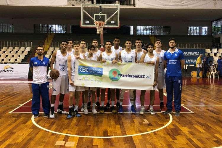 Minas foi eliminado no Brasileiro Sub-18 na semifinal (Foto: Divulgação/Minas Tênis Clube)