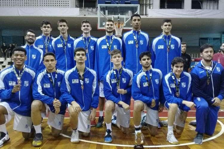 Minas foi o terceiro colocado do Brasileiro Sub-18 (Foto: Divulgação/Minas Tênis Clube)