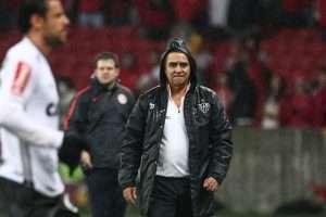 Marcelo Oliveira - jogo com Inter - 16-06-16