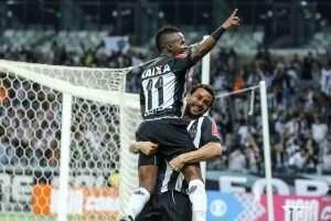 Cazares e Fred jogo como Botafogo - 30-06-16