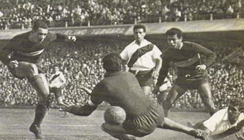 Gol pelo Boca Juniors: a assombração de Amadeo Carrizo