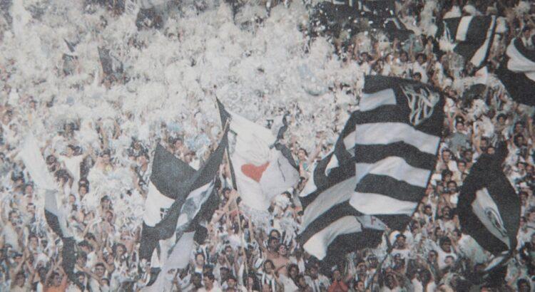 A torcida do Galo: se tivesse conquistado o Brasileiro de 1980 e a Libertadores de 1981, a presidência de Elias Kalil seria mais fulgurante do que foi