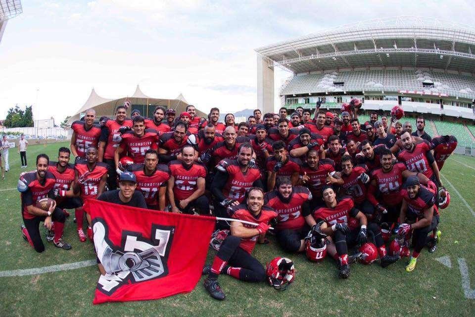 Time de Futebol Americano Minas Locomotiva
