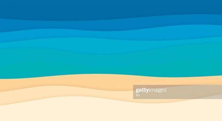 Foto: https://www.gettyimages.com.br/detail/ilustração/ocean-abstract-background-waves-ilustração-royalty-free/628367362 - Sol, praia e cerveja