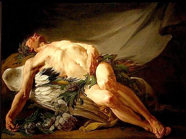 Morfeu, Jean-Bernard Restout (1732–1797), óleo sobre tela