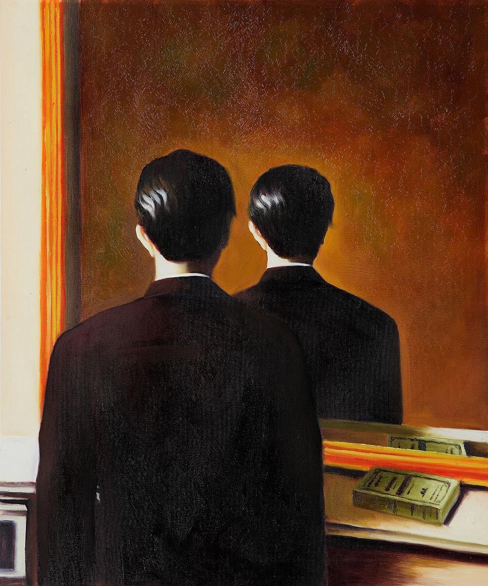 A Reprodução Proibida de René Magritte.