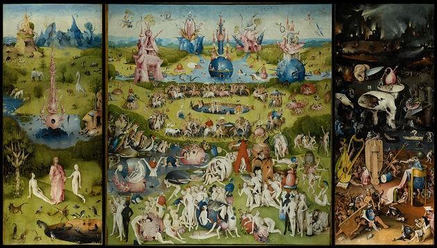 O Jardim das Delícias Terrenas - Hieronymus Bosch