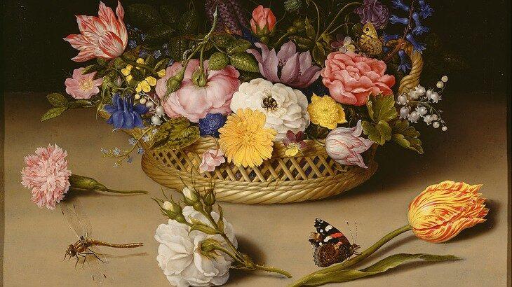 Flores ainda vivas (1614) Pintor: Ambrosius Bosschaert