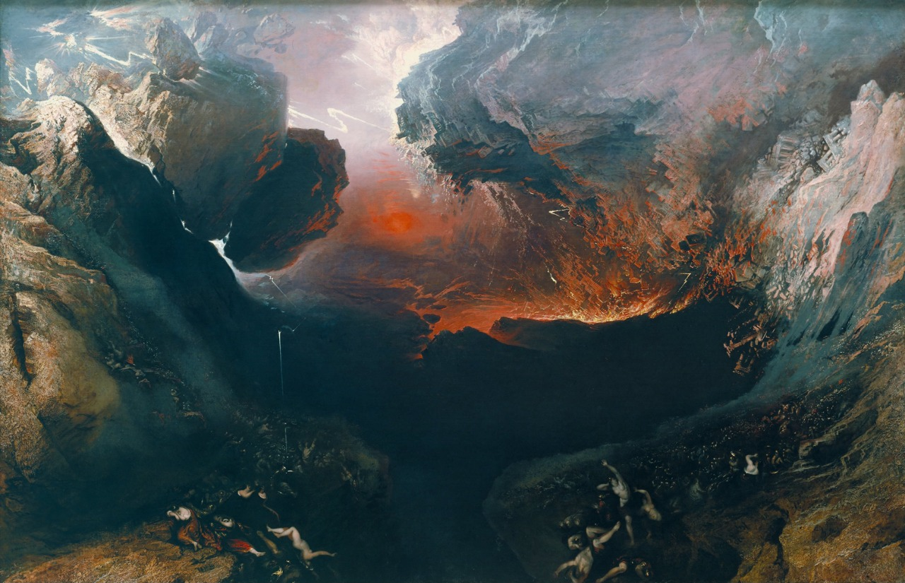 Devenire - John Martin - The Great Day of His Wrath