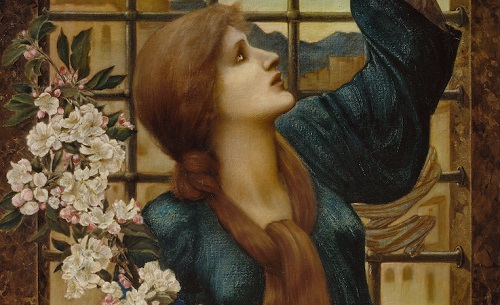Sem inocorrência de desespero - foto: Edward Burne-Jones – Esperança, 1896