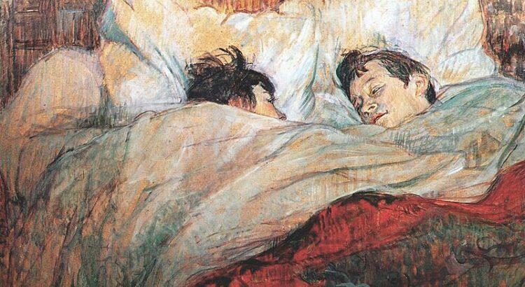 Concordo em discordar - Foto: Le Lit, 1892, Musée d'Orsay