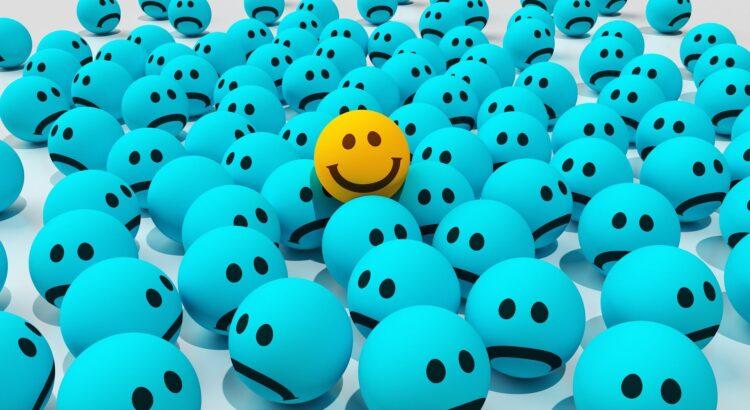 Sobre a positividade tóxica - Fonte: Pixabay