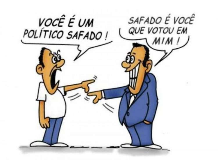 Sete eleitores e seu político: feitos um para o outro - Opinião Sem Medo!