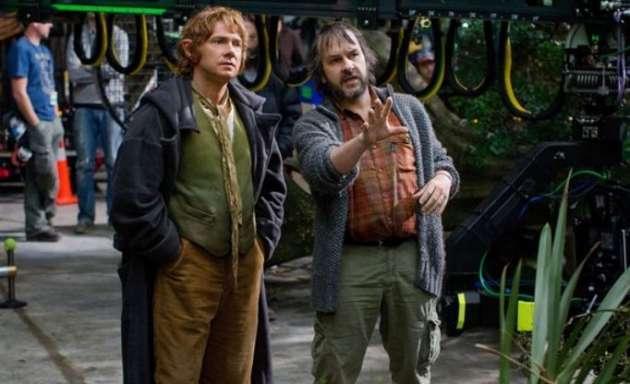 Peter Jackson dirige Martin Freeman, o novo Bilbo
