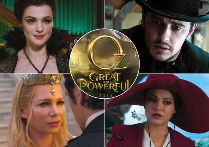 Oz the Great and Powerful characters