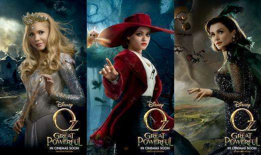 Oz the Great and Powerful witches