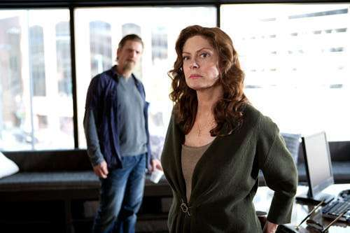 Susan Sarandon e Barry Pepper