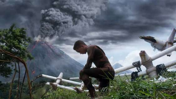 After Earth scene