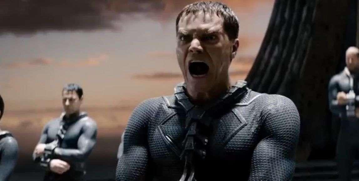 Depois do segundo filme, o General Zod volta a aparecer em O Homem de Aço