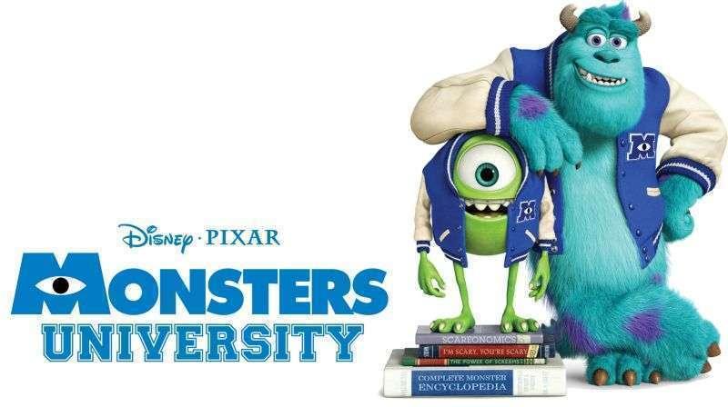 Monsters University banner