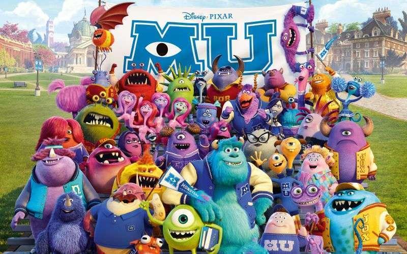 Monsters University monsters