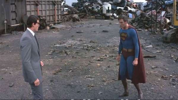 Superman III fight