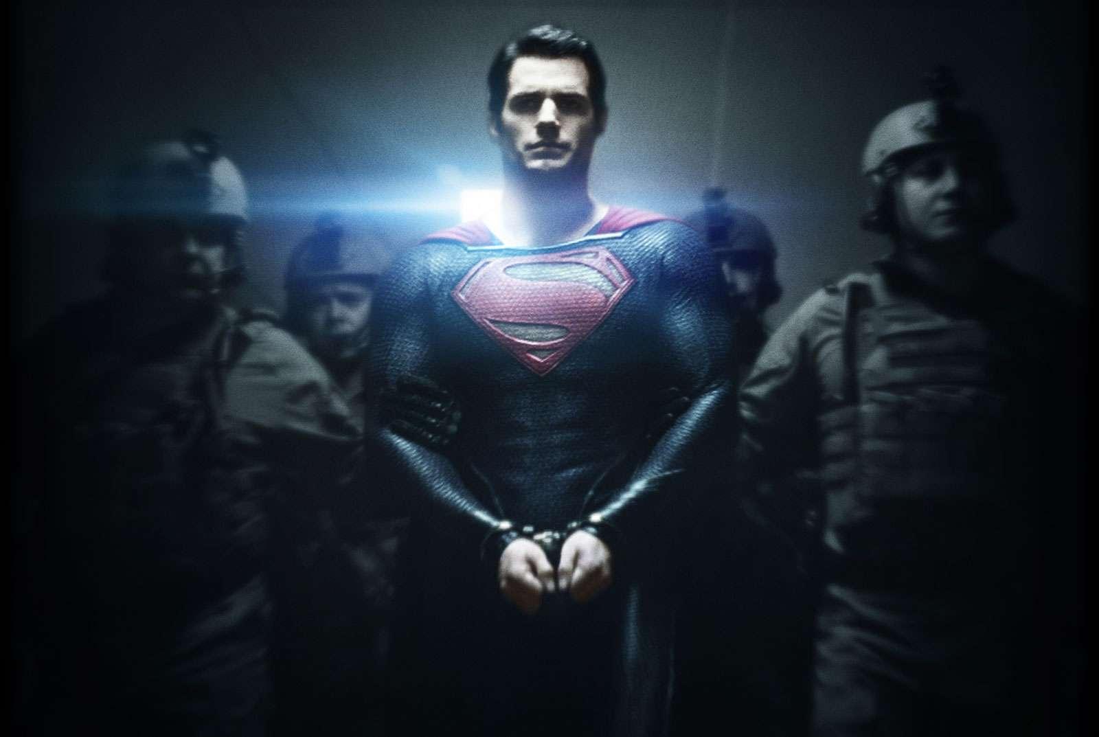 Man of Steel scene