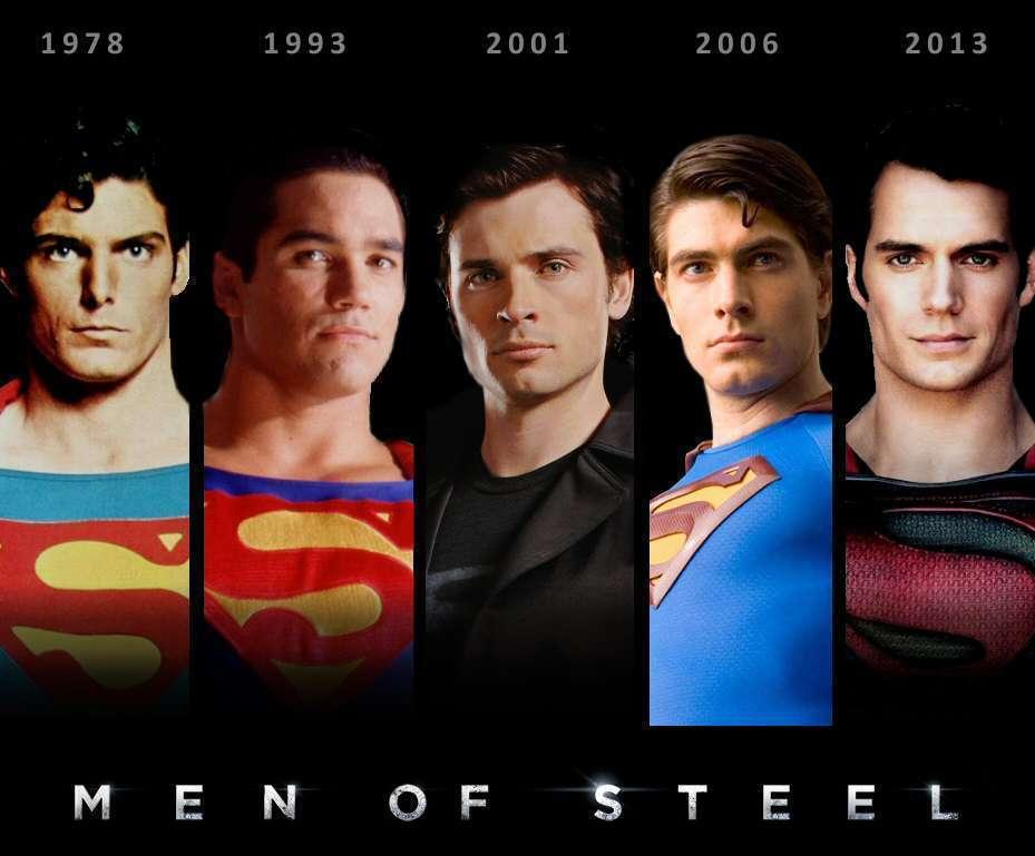 Homens de aço da TV e do Cinema