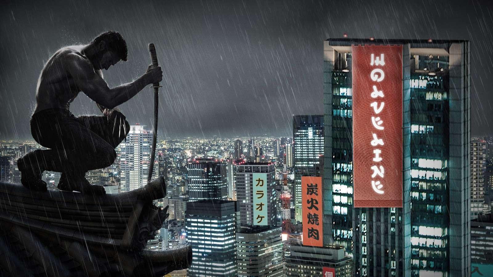 Praticamente um ronin, um samurai sem mestre