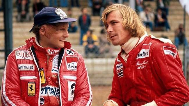 Eis os verdadeiros Lauda e Hunt