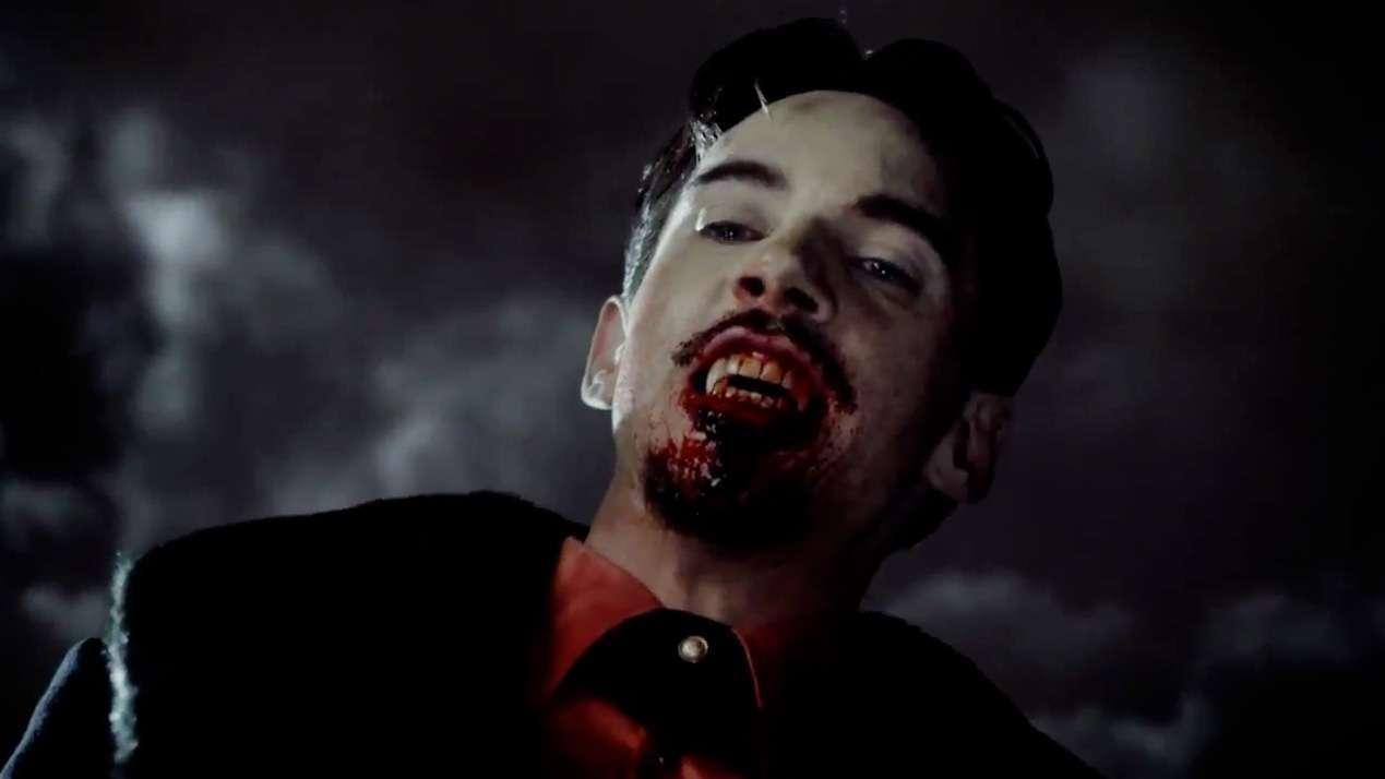 Rhys Meyers aproveita para fazer uma boquinha