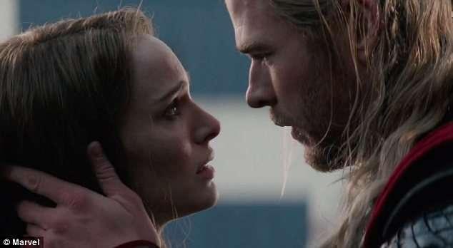 Thor TDW scene