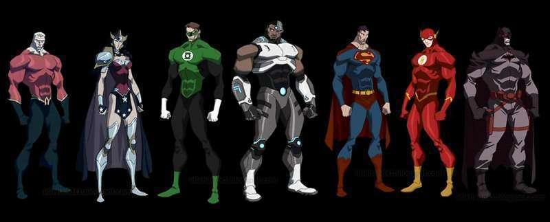 Este é o elenco da animação