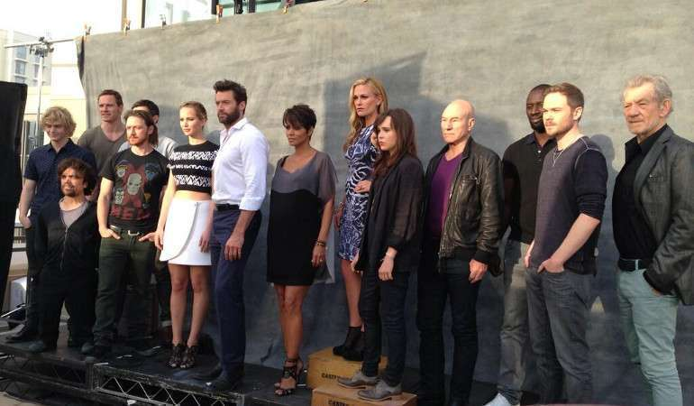 O elenco em peso foi à Comic Con promover o longa