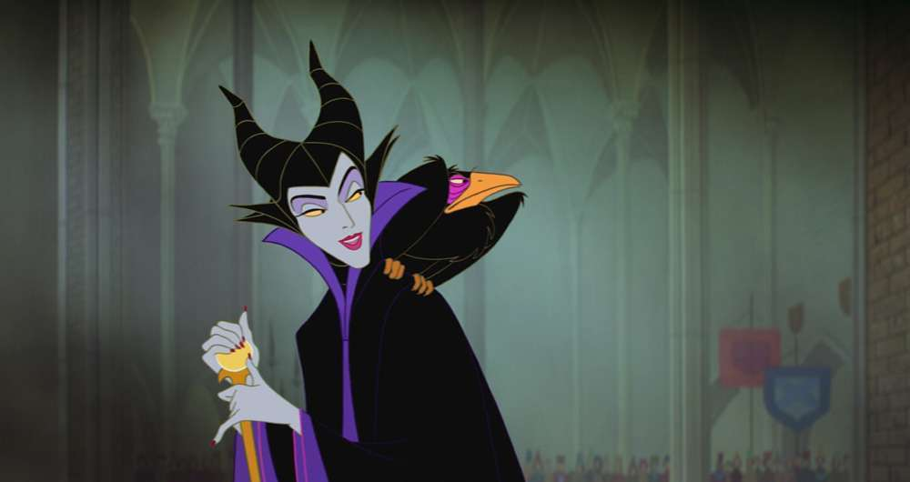 Maleficent cartoon