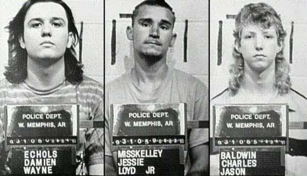 Imagens de 1993 mostram os suspeitos fichados