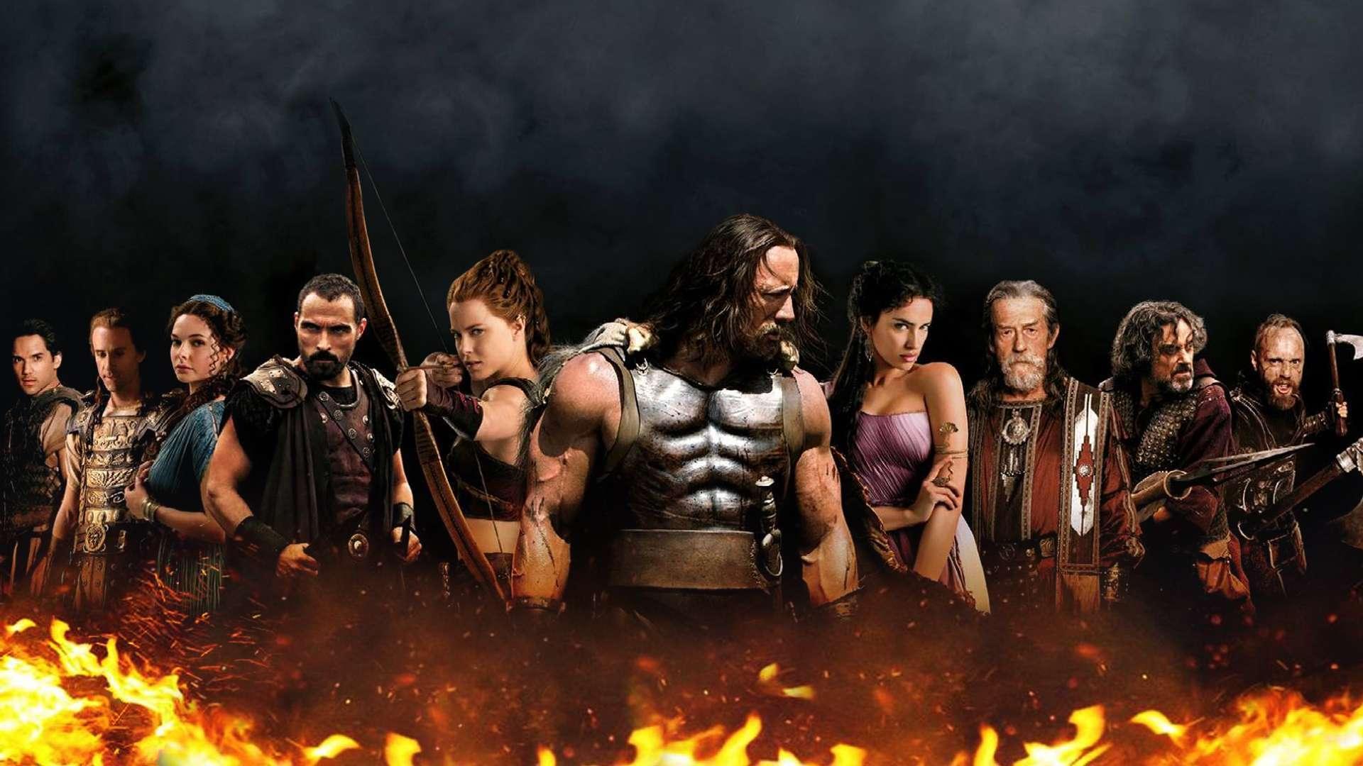 Hercules cast