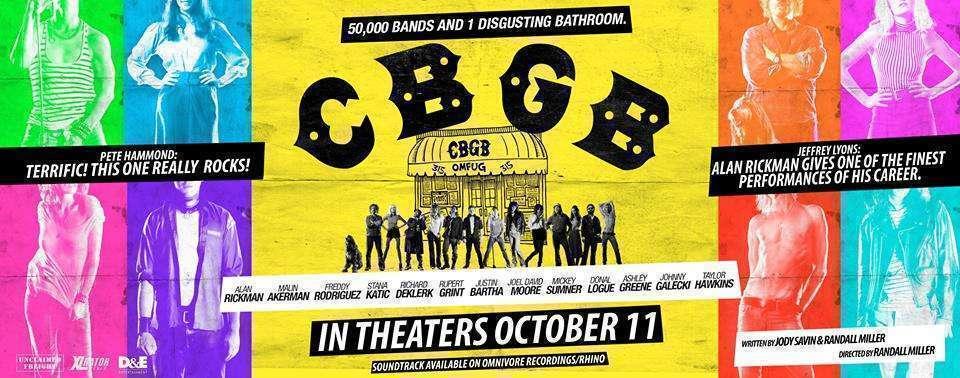 CBGB banner