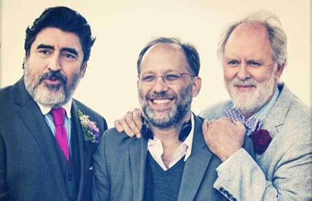 Ira Sachs e seus atores dão uma pausa nas filmagens