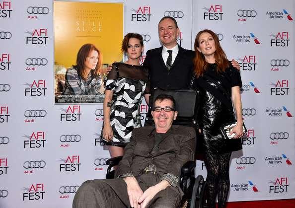 Glatzer, mesmo debilitado, continua ativo no Cinema