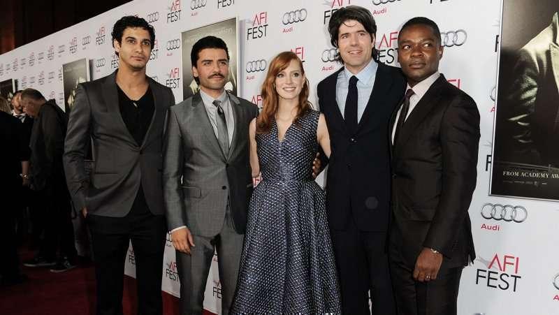 Chandor levou sua equipe à premiere em Hollywood