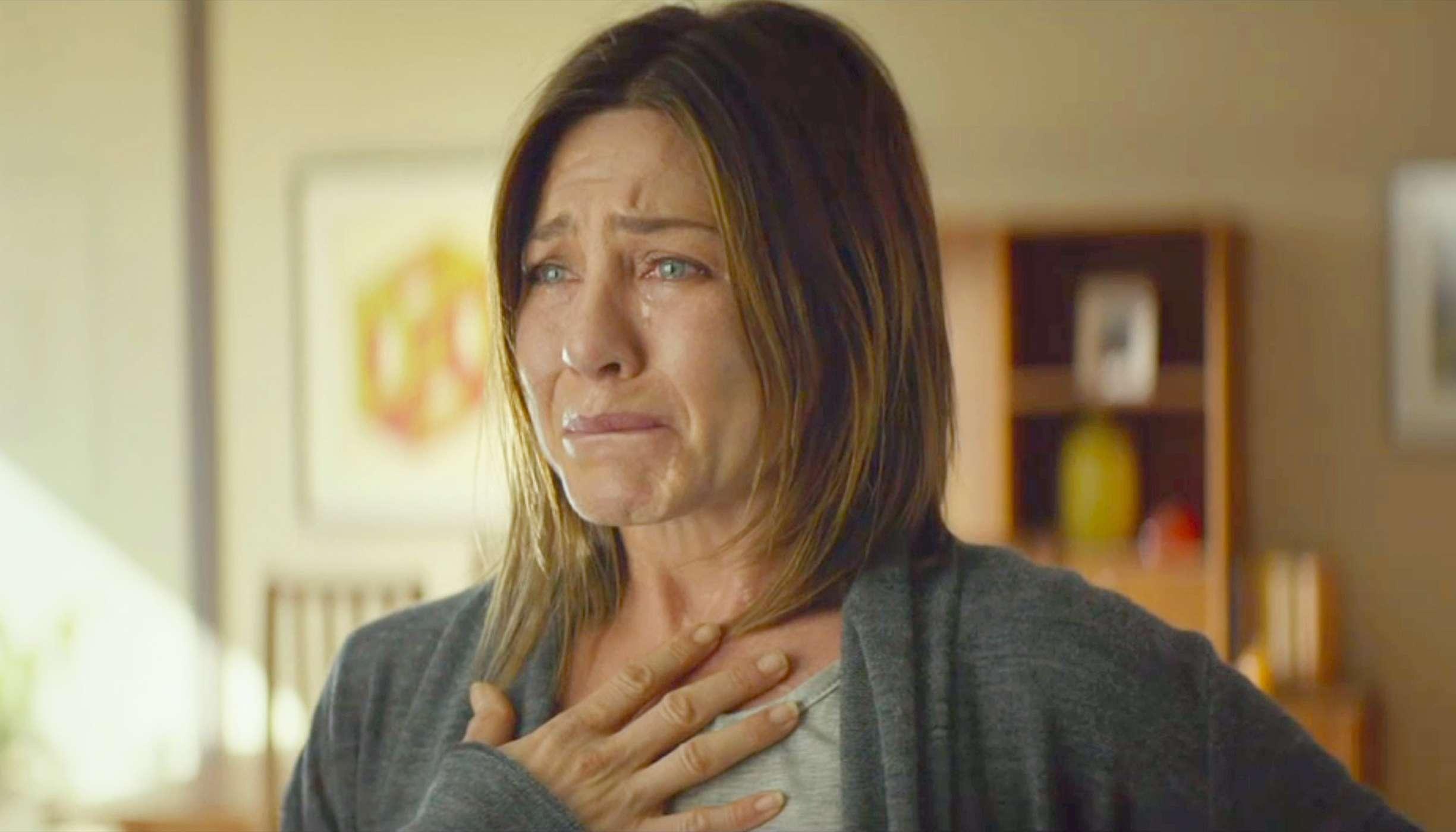 Mesmo chorando e sem a beleza habitual, Aniston não conseguiu a indicação ao Oscar