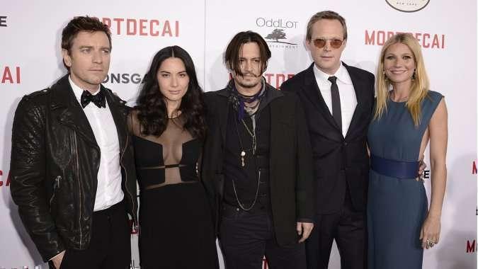 O elenco principal lançou o longa em Los Angeles