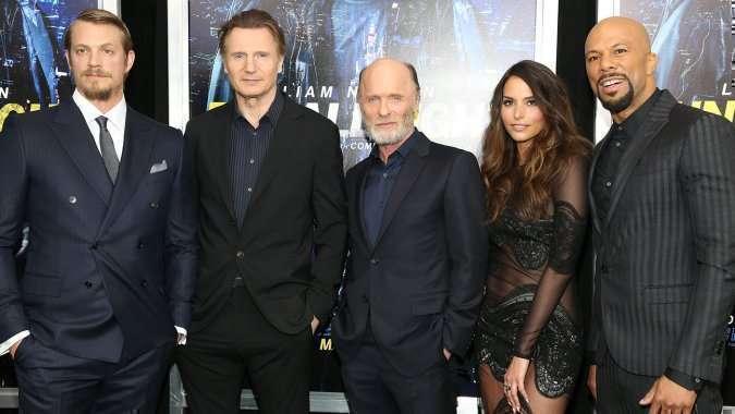 O elenco principal lança o longa em NY
