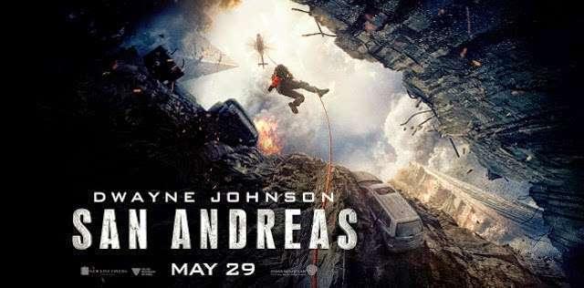 San Andreas poster