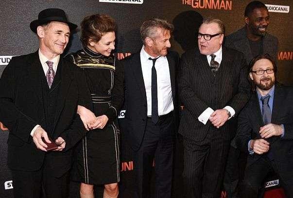 The Gunman Premiere