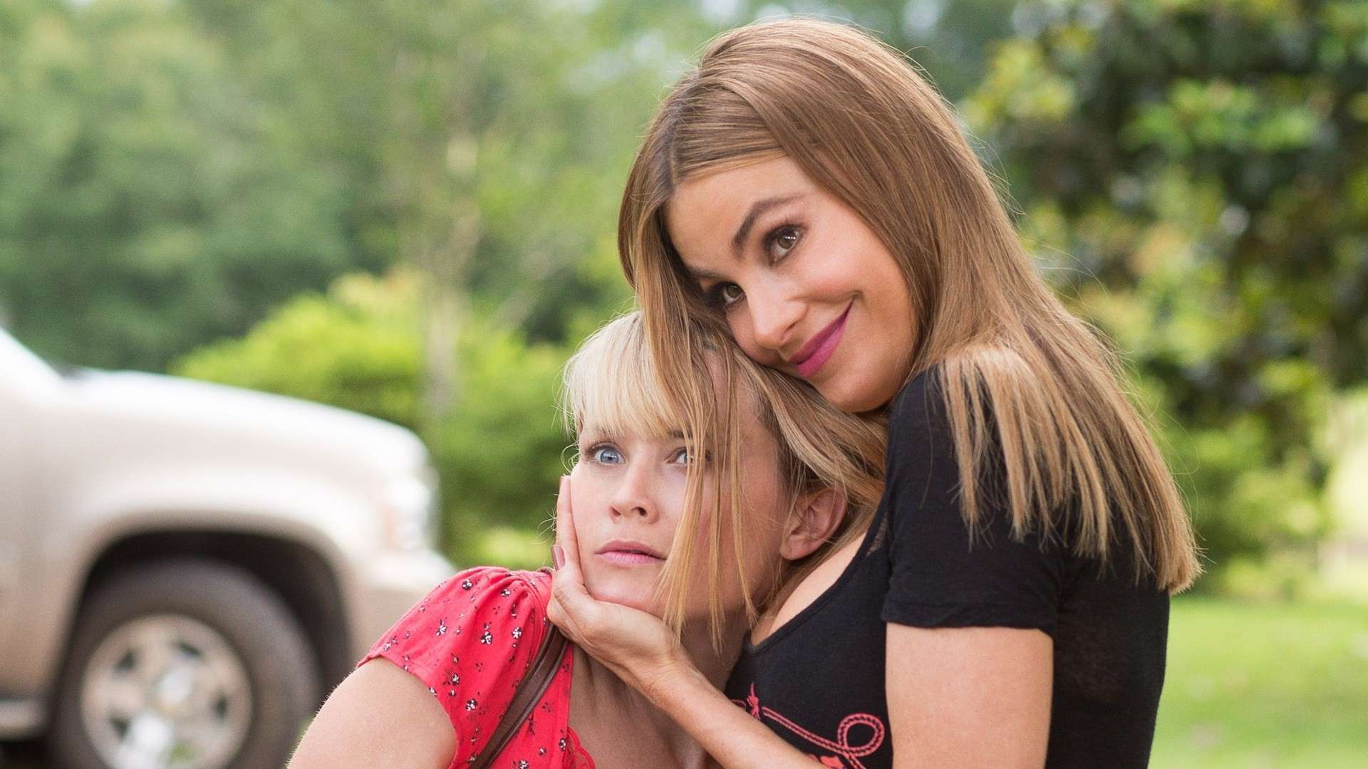 Não podia faltar uma piadinha de mal gosto com as belas atrizes