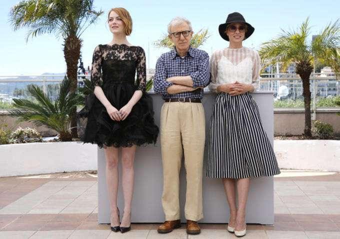 Allen levou suas atrizes para Cannes