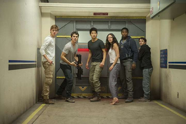 Maze Runner Scorch Trials kids